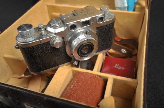 Willard D. Morgan's Leica IIIc