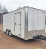 8.5'x18' UXT Enclosed Job Trailer