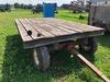 Flat Rack Hay Wagon