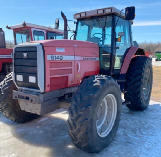 8140 Massey Ferguson Tractor