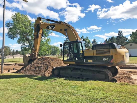 2012 Cat 336D Excavator