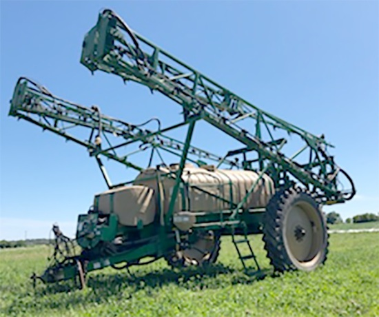 Great Plain Boom Sprayer