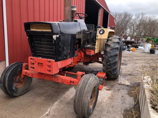 JI Case 870 Rare Black Demonstrator Tractor
