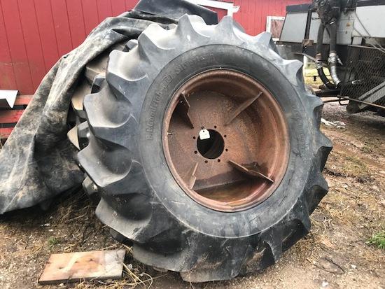 Spade Grip Rice Tires