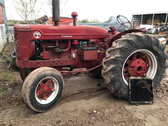 International Super W6 Tractor