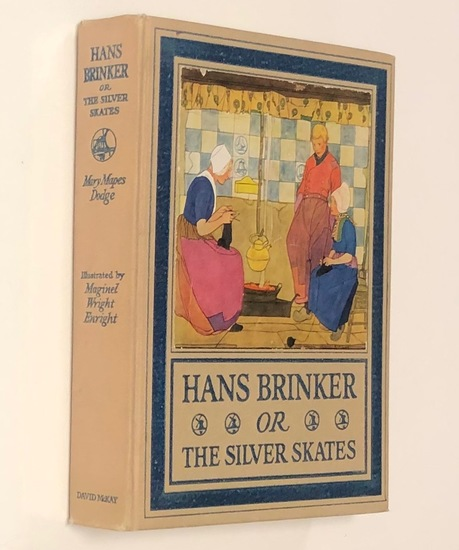 Hans Brinker or The Silver Skates by Mary Mapes Dodge (1918)
