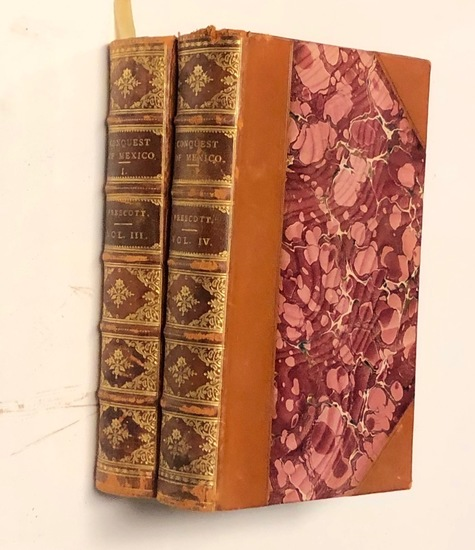 The History of the CONQUEST OF MEXICO (1880) Two Volumes