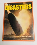 WORLD DISASTERS Book with Hindenburg