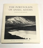 The Portfolios of ANSEL ADAMS (1981) with 90 Black & White Photographs