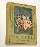 PINOCCHIO The Story of a Puppet by C. COLLODI (1920) with 14 Color Plates