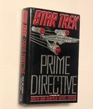 SIGNED Prime Directive by Judith Reeves-Stevens (1990) STAR TREK