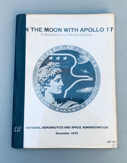 ON THE MOON WITH APOLLO 17 -  A Guidebook to Taurus-Littrow (1972)