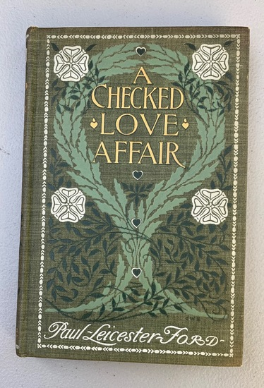 Checked Love Affair (1903) Illustrated By Harrison Fisher