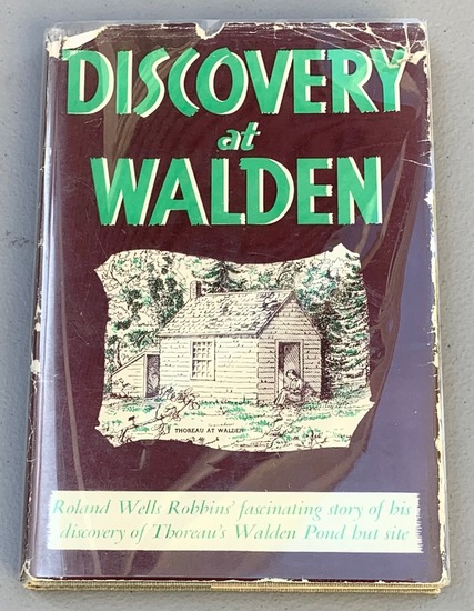 SIGNED Discovery at Walden - SIGNED by Author to the THOREAU Foundation