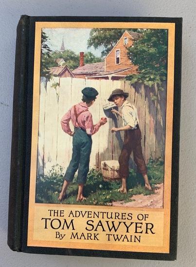 The Adventures of TOM SAWYER (1910) by Mark Twain