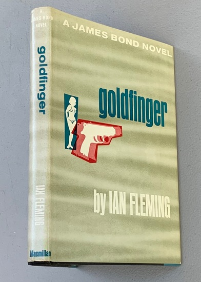 GOLDFINGER by Ian Fleming (1959)