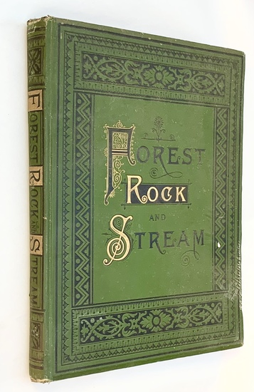 Forest, Rock, and Stream - A Series of Twenty Steel Engravings (1886) CATSKILLS NEW YORK