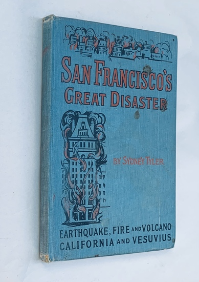 San Francisco's Great Disaster (1906) SALESMAN ISSUE includes Volcano VESUVIUS