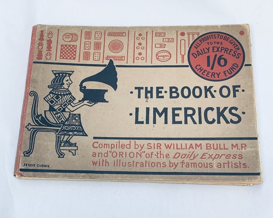 The Book Of Limericks A Collection Of The Most Famous Rhymes (1916)