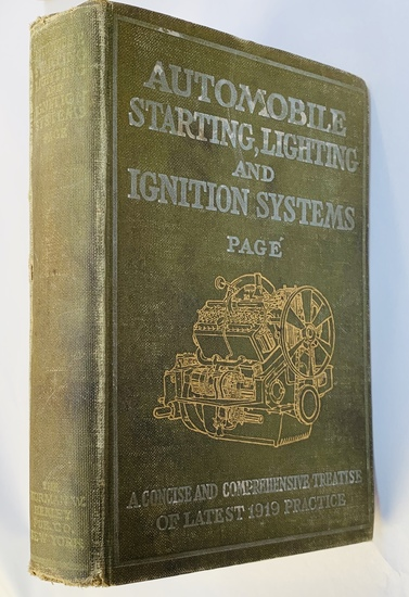 EARLY AUTOMOBILE - Automotive Starting Lighting and Ignition (1919)