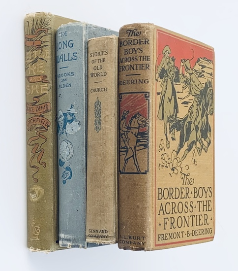 COLLECTION of Antique Juvenile Books