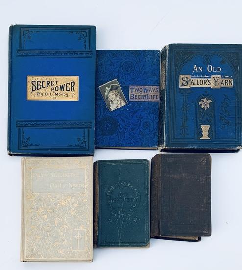 ANTIQUARIAN RELIGIOUS BOOK LOT