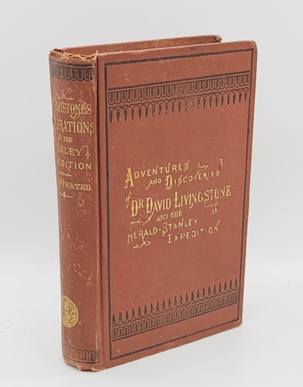 RARE Livingstone's Africa: Adventures And Extensive Discoveries. In The Interior Of Africa (1872)