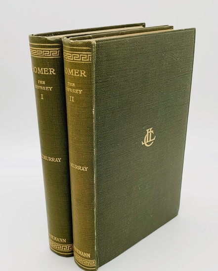 HOMER The Odyssey (1938) Two Volumes