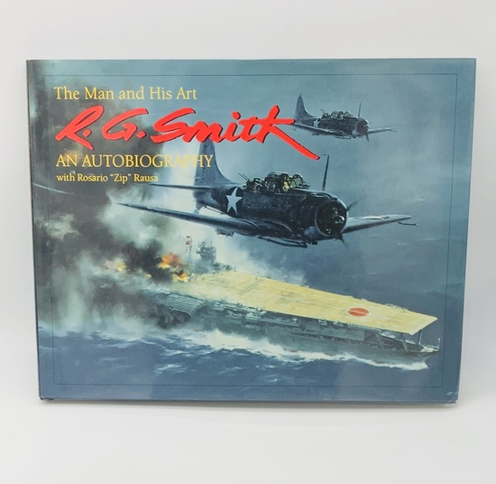 R.G. Smith: The Man and His Art: An Autobiography (Schiffer Military History) AIRCRAFT ART