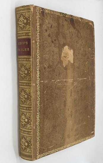 RARE Aesop's Fables Illustrated by Ernest Griset (c.1880) New Enlarged Edition - CUSTOM BINDING