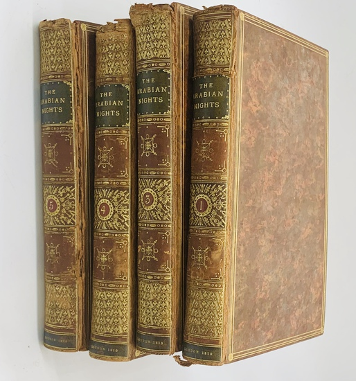 RARE The Arabian Nights (1811) Translated by Edward Forster - FOUR VOLUMES