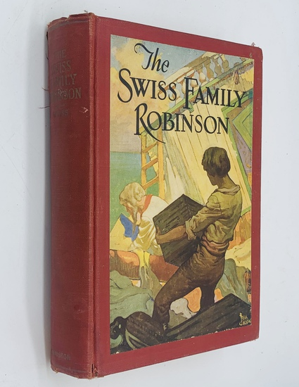 The SWISS FAMILY ROBINSON by David Wyss (1929) Illustrated