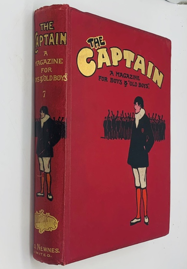 THE CAPTAIN A Magazine for Boys & Girls (1902) BOUND