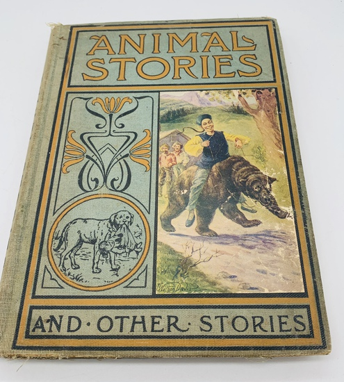 Animal Stories for Little People (1900) Mother Goose Series