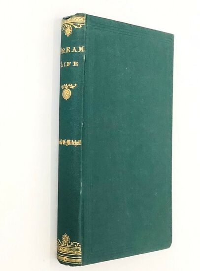 DREAM LIFE, a Fable of the Seasons by Mitchell (1866) Decorative Binding