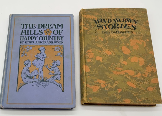 Dream Hills of Happy Country & Wind Blown Stories (c.1920) CHILDREN'S BOOKS