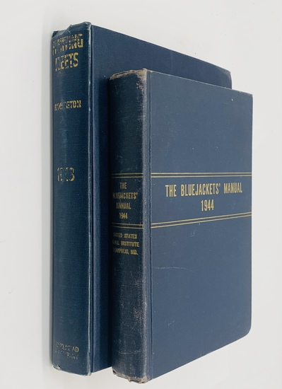 The Bluejacket's Manual (1944) and FIGHTING FLEETS (1943) WW2