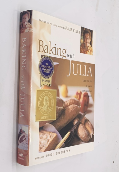 SIGNED Baking with Julia (1996) Cook Book SIGNED BY JULIA CHILD