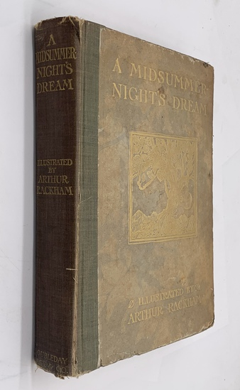 RARE A Midsummer-Night's Dream by William Shakespeare (1908) Illustrated by ARTHUR RACKHAM
