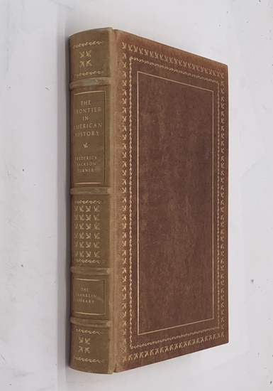 THE FRONTIER IN AMERICAN HISTORY by Frederick Jackson Turner (1977) Limited Edition