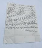 EPHEMERA LOT - Letters - Billhead