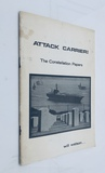Attack Carrier: The Constellation Papers (1971) VIETNAM WAR Protest Pamphlet