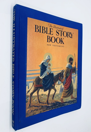 The Illustrated BIBLE STORY BOOK (1925) Large Illustrated Hardcover