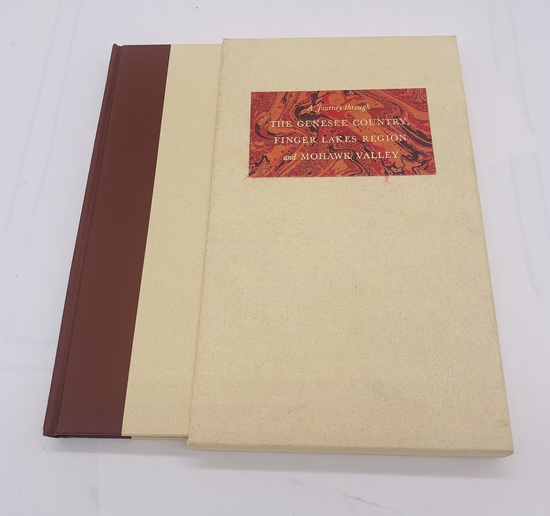 A Journey Through The Genesee Country, Finger Lakes Region and Mohawk Valley (1978) with SLIPCASE