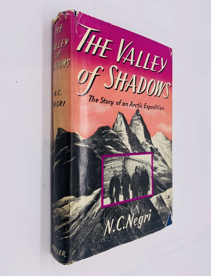 The VALLEY OF THE SHADOWS the Story of an Arctic Expedition (1956)