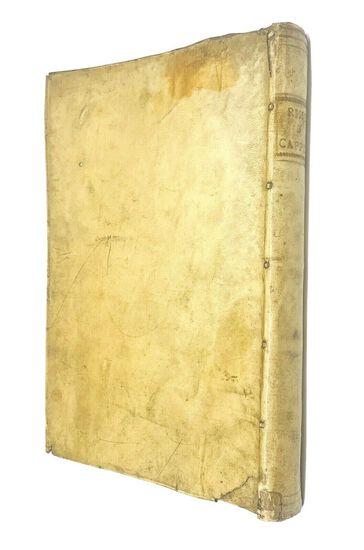RAREST Rime di M. Bernardo Cappello. Con Privilegio (1560) Original Vellum Binding