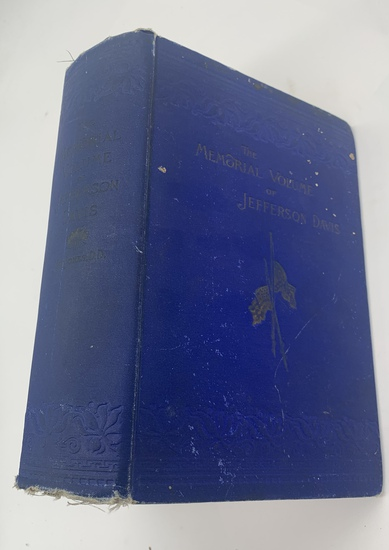 RARE JEFFERSON DAVIS and the World's Tribute to His Memory (1890) Davis Memorial Volume