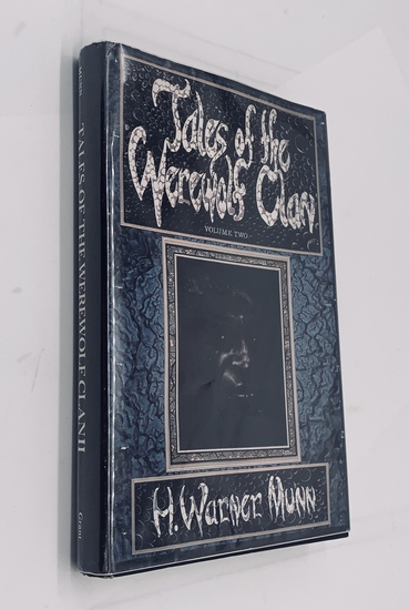 RARE SIGNED Tales of the Werewolf Clan (1980) by H. Warner Munn