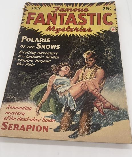 Famous FANTASTIC Mysteries (1942) Magazine - Polaris of the Snows