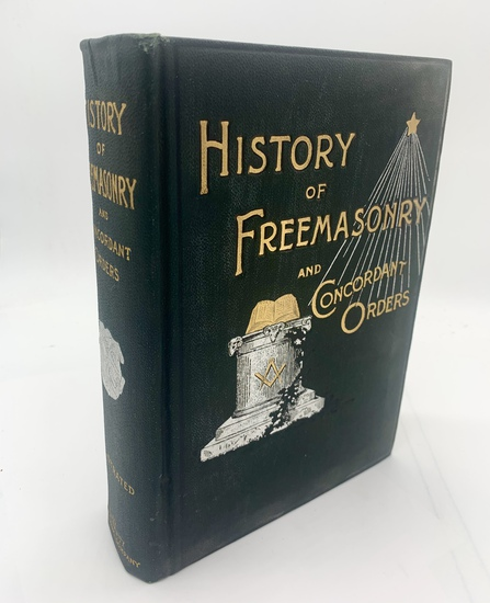 RARE History of the Ancient and Honorable Fraternity of Free and Accepted Masons (1899) FREEMASONRY